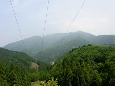 二の谷山 途中