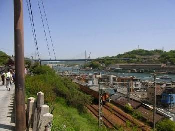浄土寺参道からの景色