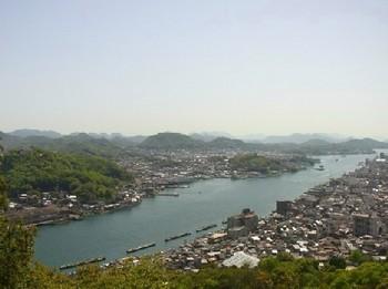 瑠璃山からの景色①