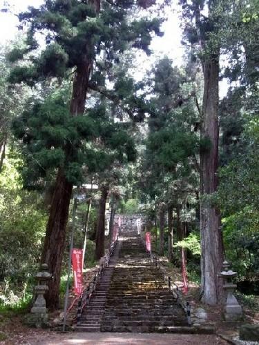 与喜天満神社 石段